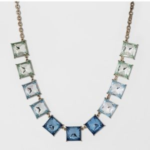 Sugarfix by BaubleBar Blue Ombré Necklace.